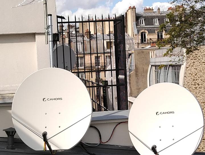 Installation et dépannage reception TV et multi satelites avec antenne ELLIPSE TELEVES ET PARABOLES CAHORS LNB QUATTRO pour multiswitch